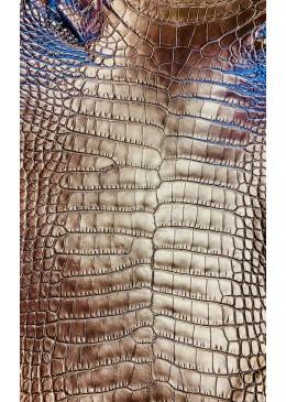 peau aligator mat